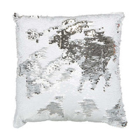 Weighted Sensory Cushion - Silver