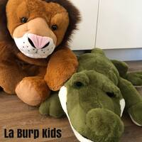 Large Weighted Sleepy Head Animal Toy