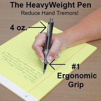 The Heavyweight Ball Pen with the Pencil Grip