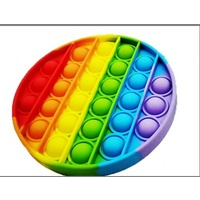 Pop It Fidget Toy Rainbow Shapes