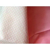 Weighted Large Lap Blanket Pink Polka Dots 2kg