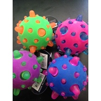 Space Light Up Meteor Ball - Purple & Green